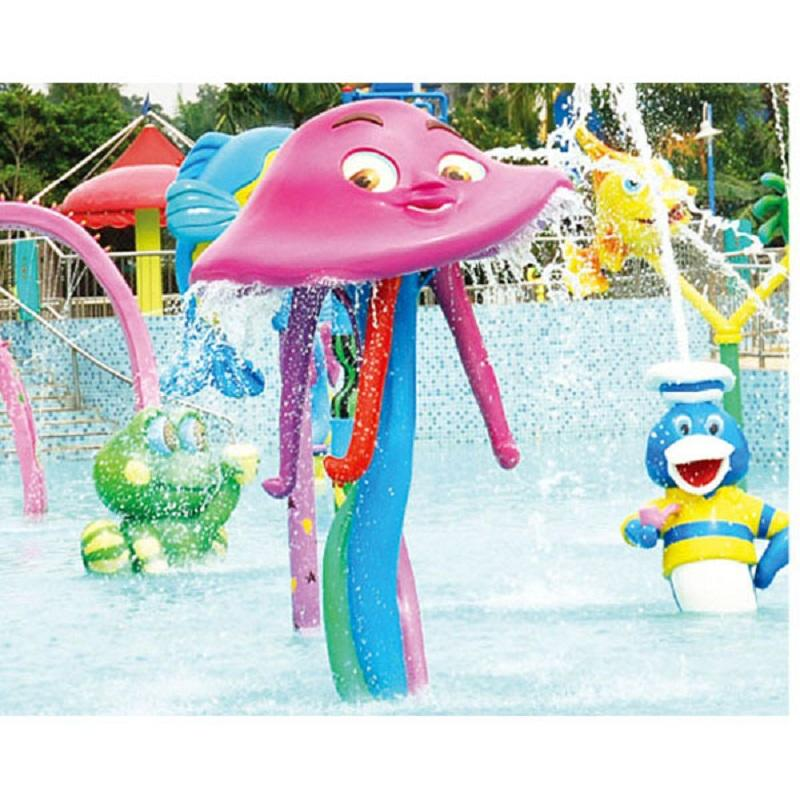 Water Playground Equipment Water Play For Toddlers Jellyfish Spray
