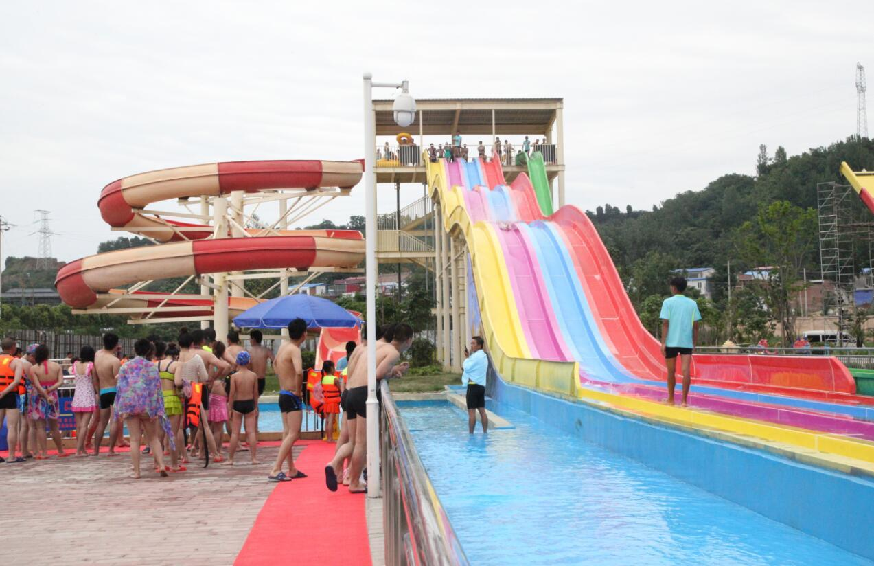 Stimulate fun water slides