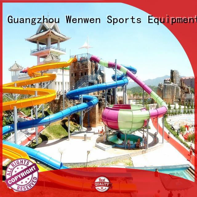 Wenwen fiberglass slides for sale maker for hotel