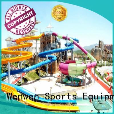 Wenwen large water slide ride for amusement park