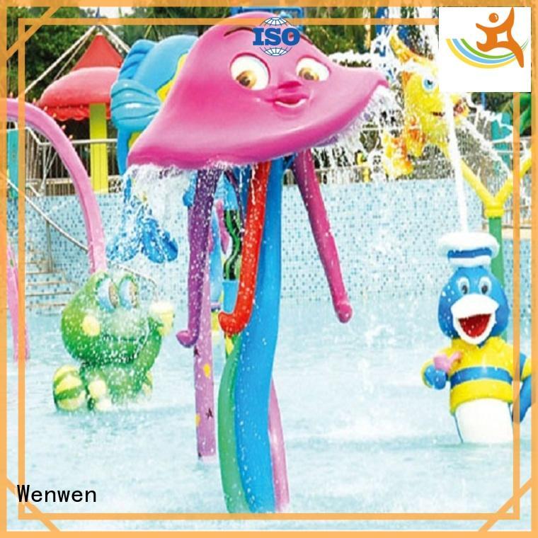 Wenwen kids splash pad equipment online