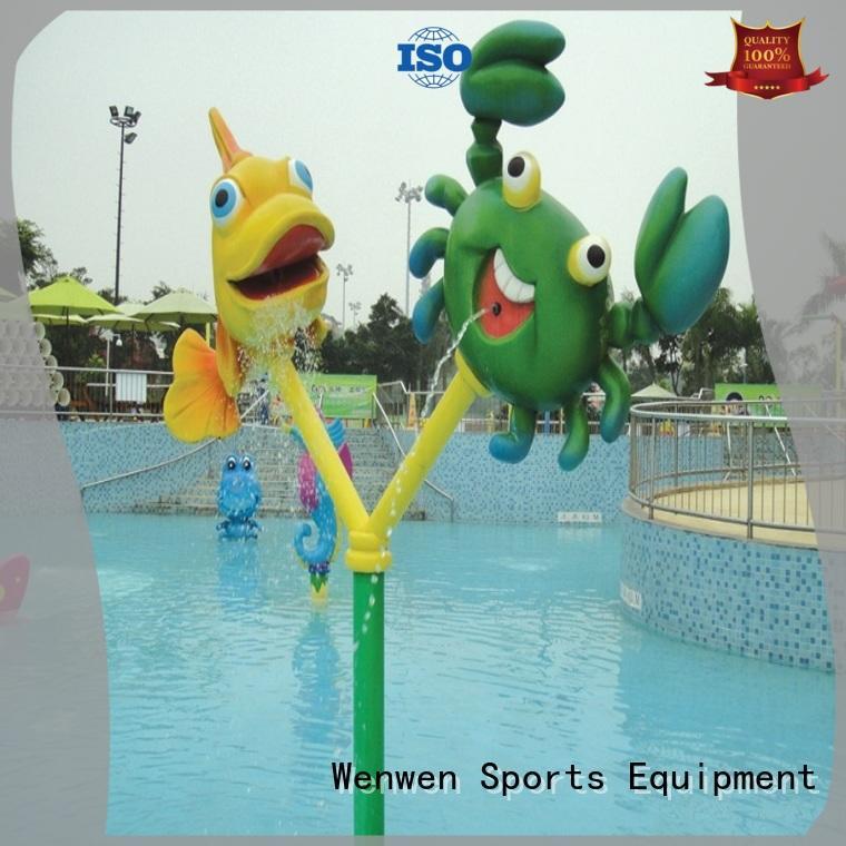 Wenwen fountains kids splash pad equipment for sale