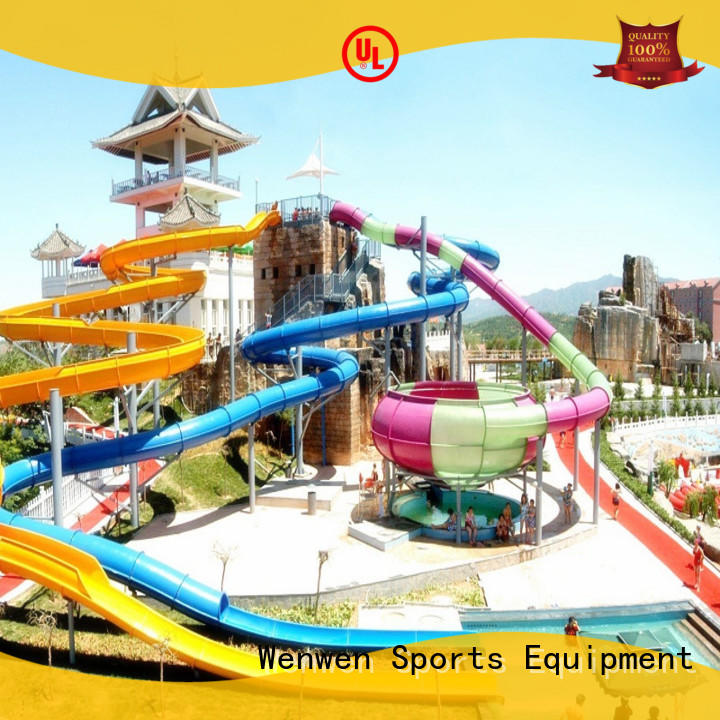 outdoor cool water slides maker for hotel