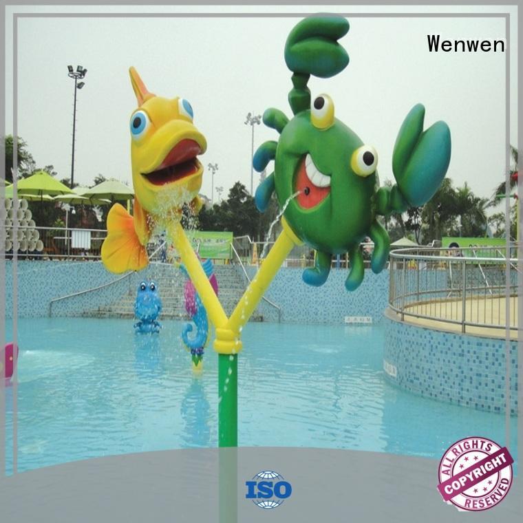 Water Playground Equipment Kids Interactive Spray Toys Spray