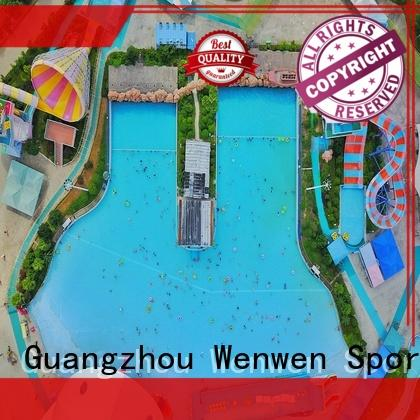 Wenwen the wave pool online for hotel
