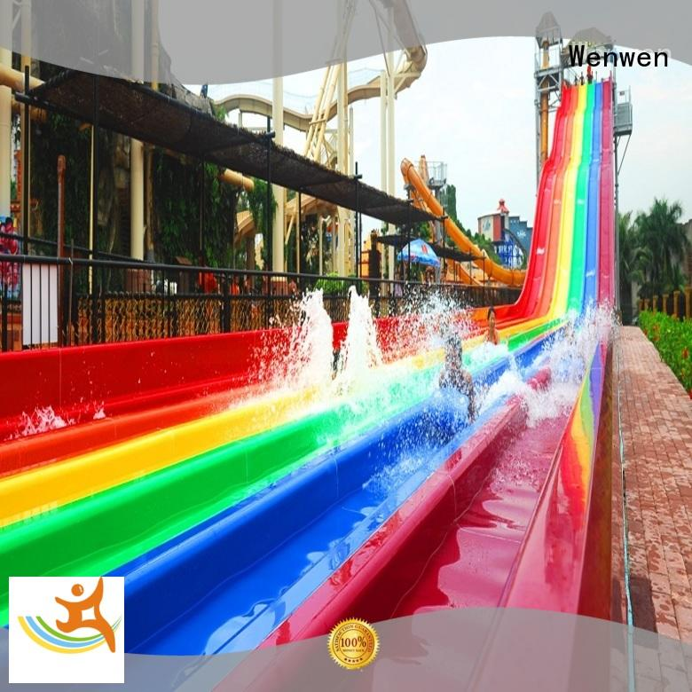 colorful best water slides in the world playground for sale