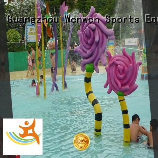 Kids Interactive Splash Pad Water Park Equipment Water Toys Spray