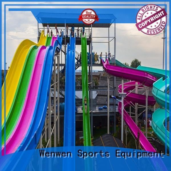 Wenwen best water slides in the world playground for sale