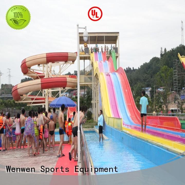funny water slide manufacturer for municipal parks