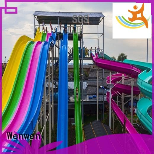 Wenwen large fiberglass water slides for sale experience for sale