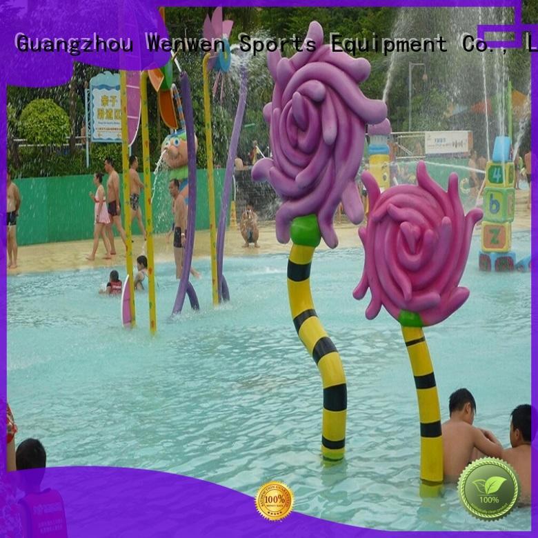 playground splash pad galvanized for water park