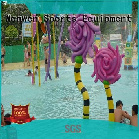 kids splash park steel for water park Wenwen