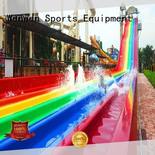 Wenwen best water slides in the world playground for resort