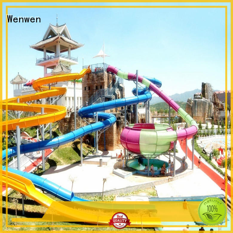Wenwen large a water slide competition for resort