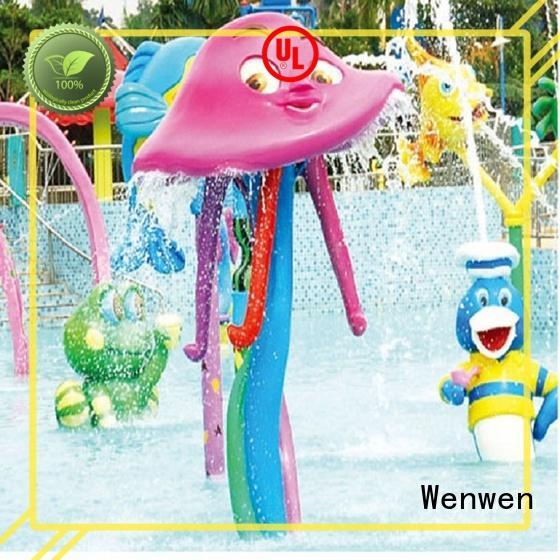 flowing splash pad equipment wholesale