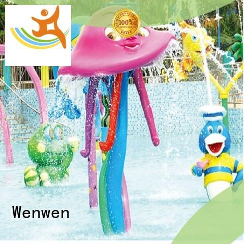 Wenwen fun splash park galvanized online