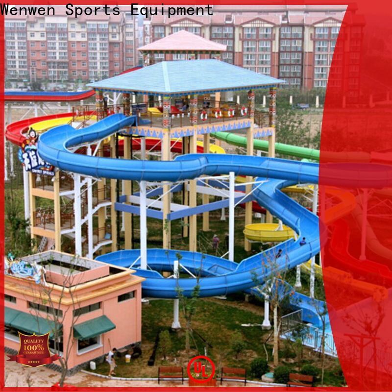 wholesale enclosed water slide factory for adult