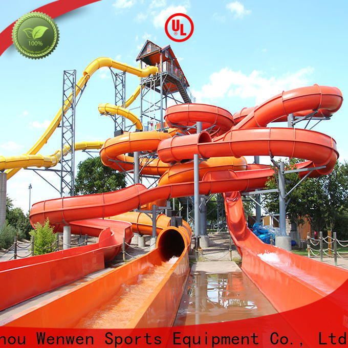 new enclosed water slide supply for resort